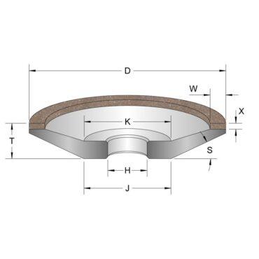 PCBN Wheels
