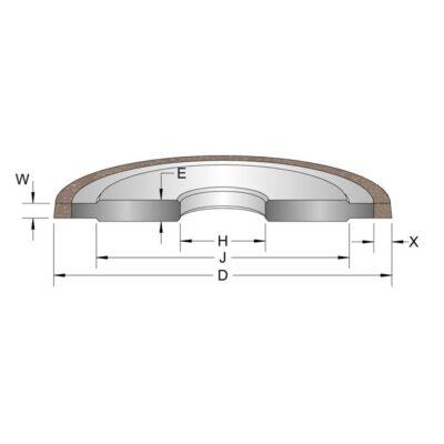 grinding wheels for metal
