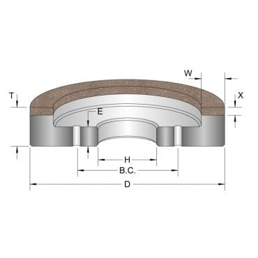 Diamond Surface Grinding Wheels