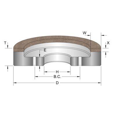 Diamond Surface Grinding Wheels