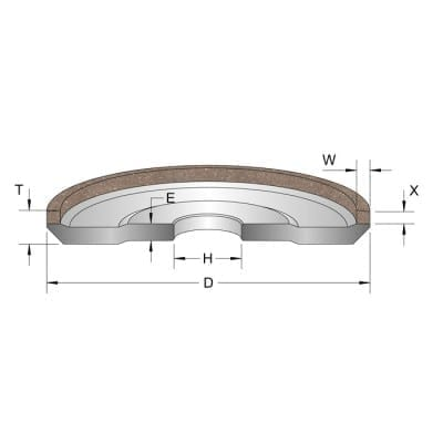 Tungsten Carbide Grinding Wheel